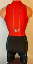 Pearl Izumi Elite Pursuit Tri Suit Small Sleeveless Cycling Nwts Form Fit $145