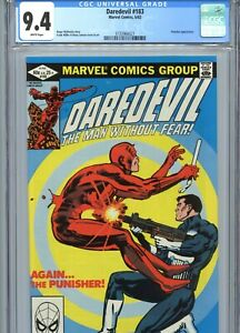 Daredevil #183 CGC 9.4 White Pages Frank Miller Cover & Art Marvel Comics 1982