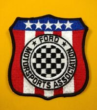 Vintage 1968-1970 Ford Motorsports Association Patch