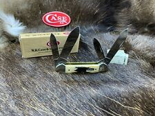 1998 Case Big Chief Canoe Knife Midnight Stag Mint Set -  12A