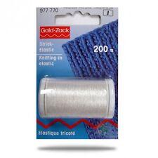 € 0,02/ m prym 200m strick-elastic transparent beilauffaden zum stricken häkeln