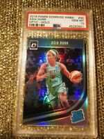 Asia Durr 2019 New York Liberty Prizm Optic Silver Holo Refractor WNBA PSA 10