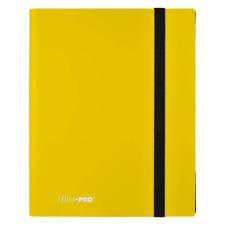 ULTRA PRO BINDER ECLIPSE PRO Binder 9PKT Yellow
