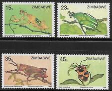 Zimbabwe MNH 1988 Insects