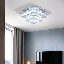 Moderne Kristall Deckenleuchte Kronleuchter Lampe LED Unterputz Pendelleuchte