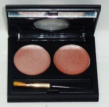 MARIO DE LIUIGI Beauty Pick Up Dual CHEEKS Blush Makeup / Mirror Compact NEUTRAL
