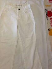 United Colors of Benetton - pantaloni bianchi - taglia S  Età 5/6 anni - 120 cm