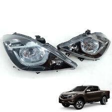 For 15+ Mazda Bt-50 Bt50 Pickup Ute Head Lamp Light Trunk Pair BLACK EDITION
