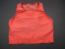 Nike Size L Women's Orange Dri fit Athletic Work Out Bra 1E