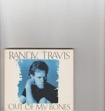 Randy Travis- Out Of My Bones US promo cd single.