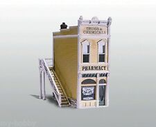 HO Scale Pharmacy Cast Metal Building Kit - Woodland Scenics #D221