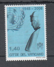 G 002 ) VATICAN 2007 MNH - Pope visits UN in New York  mint never hinged