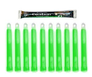 Job lot of 20 Round Blue Cyalume Chemlight Glow Light Sticks To Most Surfaces