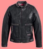 Harley Davidson Leather Jacket VERONA Soft Goatskin Fitted 97160-13VW LARGE