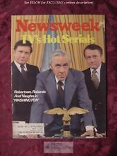 NEWSWEEK magazine September 5 1977 9/5/77 MINI-SERIES SERIALS Billie Sol Estes
