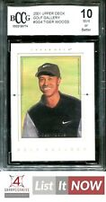 2001 UPPER DECK GOLF GALLERY #GG4 TIGER WOODS RC ROOKIE BCCG 10 A0076-774