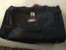 Pre-Owned Black Samsonite Carry On Overnight Shoulder Bag Travel Tote