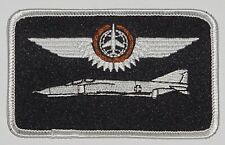 Écusson patch namemsschild f-4 Phantom II combat observateurs en bronze... a3594