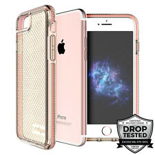 "Prodigee Safetee iPhone 6 6s 4.7"" Case Cover Clear Pink Rose Gold Drop Test"