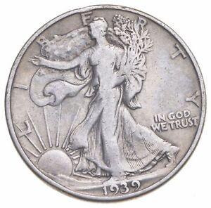 1939-D Walking Liberty 90% Silver US Half Dollar *922