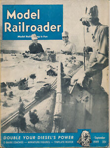 MODEL RAILROADER SEPTEMBER 1949 NYC COACHES BR&P 2-10-0 EXPRESS REEFER PLANS
