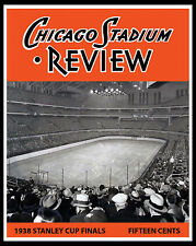 Chicago Blackhawks 1938 Stanley Cup Finals Game Program Cover - 8x10 Photo