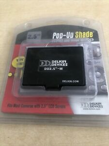 "Delkin Pop Up Shade Universal 2.5"" LCD Black - For Camera"