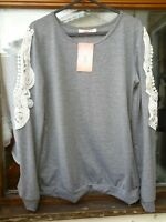 Overmal Ladies top size small
