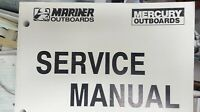 MERCURY SERVICE MANUAL part# 90-824052, R1 or 90-824052R2 SM O/B V6 135-225