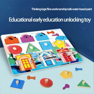 Kleinkind Beschäftigt Board Für Kinder Pädagogische Aktivität Board