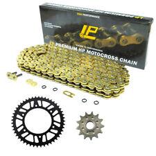 For Honda Dirt Bike CR250 CRM250 CRF450 520 Motorcycle Chain Sprocket Kit Set