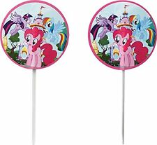 24 My Little Pony Fun Pix Cupcake Decorating Birthday Party Baking Cake Supplies
