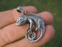 925 Sterling Silver Jackson Camelian Pendant Necklace jewelry Thailand A4