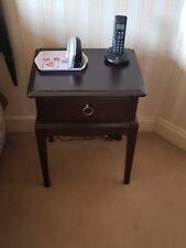 bedside tables x 2 (stag Minstral)