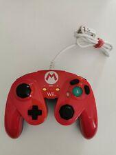 Super Smash Bros Mario Fight Pad Controller für Nintendo Wii/U Top Zustand