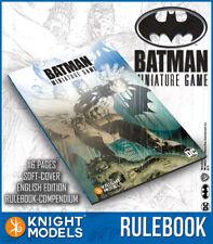 Knight Models Nuovo Con Scatola BATMAN IN MINIATURA GIOCO LIBRO delle Regole V2.0 (ENG) BMG006