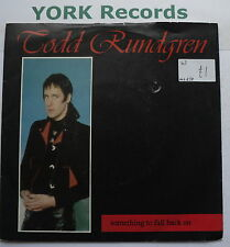 """TODD RUNDGREN - Something To Fall Back On - Ex 7"""" Single Warner Brothers W 8862"""