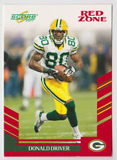 DONALD DRIVER Packers 2007 Score RED ZONE Variation #55 #022/120 RARE SP