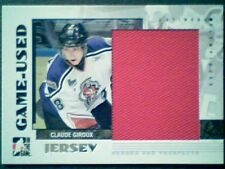 CLAUDE GIROUX  07/08 AUTHENTIC PIECE OF A GAME-USED JERSEY /130