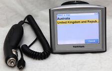 TomTom One GPS Navigation With Latest 2017 Australia, UK, Ireland & France Maps