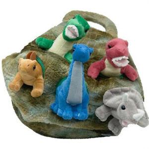 "Unipak Designs 12"" Dino House Dinosaur Egg Stuffed Animal Plush Kids Toys 7166DI"