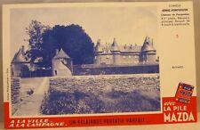 Buvard Pile Mazda n° 5 Château de Pompadour Arnac Corréze