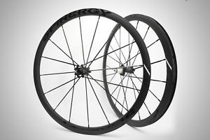 Spinergy Z32 Road Bike Wheels Wheelset cycling DISC Black bladded spokes
