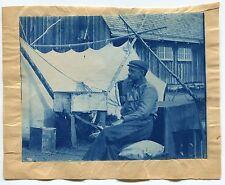 Cyanotype - Alaska - Explorateur - 1890 -