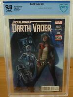 Star Wars: Darth Vader #3 (CBCS 9.8) 1st Appearance of Doctor Aphra [B]
