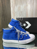 Sneakers Men's Converse 159648c Chuck Taylor AS Street Mid Top Hyper Blue Canvas