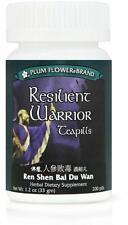Plum Flower, Resilient Warrior, Ren Shen Bai Du Wan, 200 ct