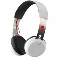 Skullcandy GRIND Wireless Headband Headsets-Refurb-WHITE