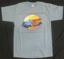 Beach Boys Surfin Safari California 1999 Tour Shirt Vtg Sky Blue L Hot Rod Woody