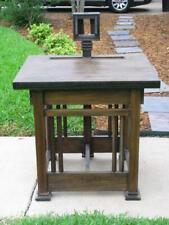 Purcell & Elmslie Monumental Table from Edison Phonograph Room Prairie School